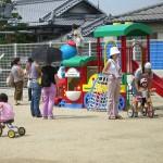 保育園の遊具で遊ぼう